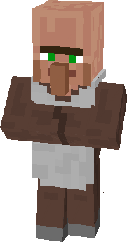 minecraft zombie villager face